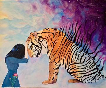 """I'll Miss You"" (watercolor) by Sara Edge"