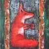 """Red Fox"" (oil on canvas) by Polina Motovilova"