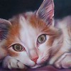 """In Memory of Skylar I"" (colored pencil) by Nathalie Beck"
