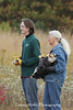 Fall Raptor Release, Carpenter Nature Center; Terry holding the Bald Eagle that Mary Wicklund rescued
