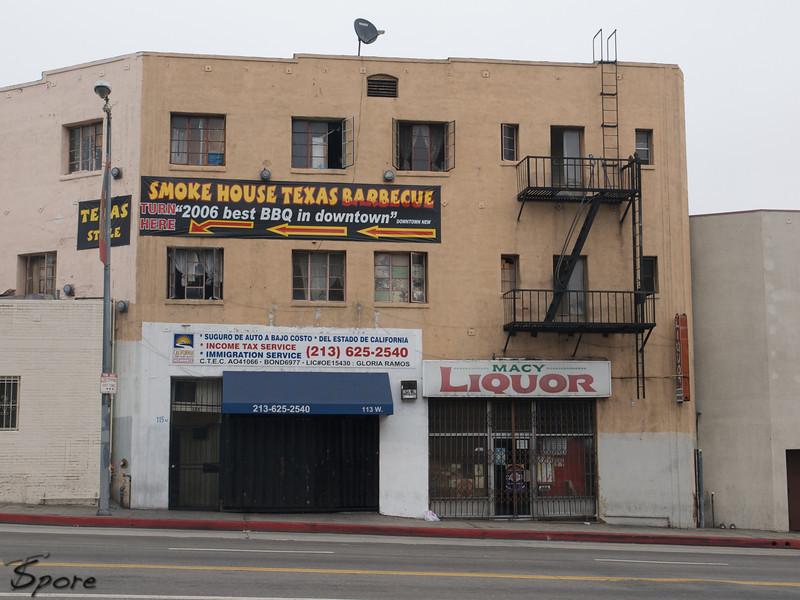 Shooting downtown LA