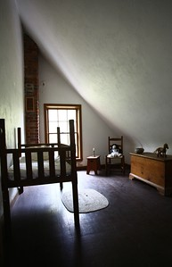 Inside keeper's house