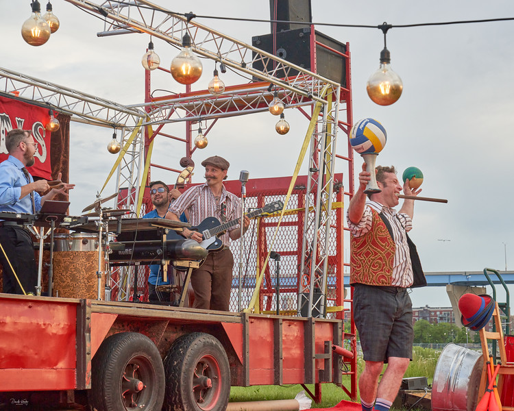 Dead Man's Carnival Performs at Lakeshore Park