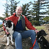 Dallas, Nigel, Jilly - 4/6/2010 on Turtleback on Orcas Island
