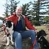 Dallas, Nigel, Jilly - 4/6/2010 on Turtleback on Orcas Island