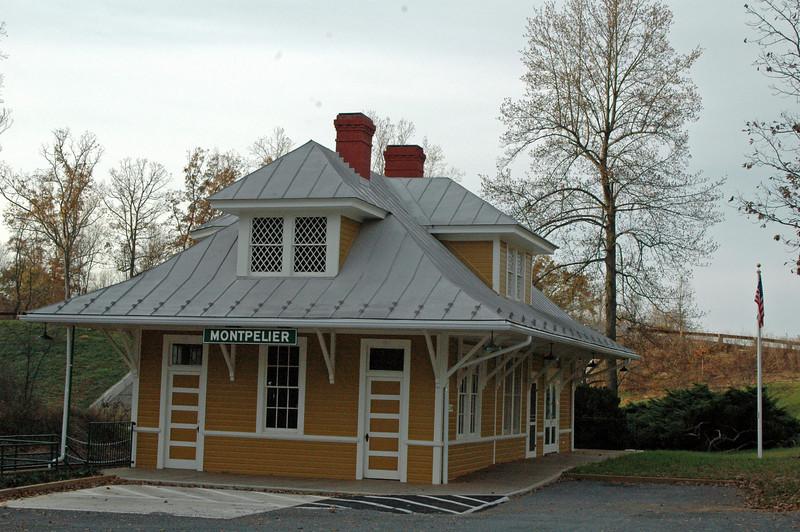 Train Depot at Montpelier, VA.<br /> 75th Running<br /> MONTPELIER HUNT RACE<br /> 1934-2009