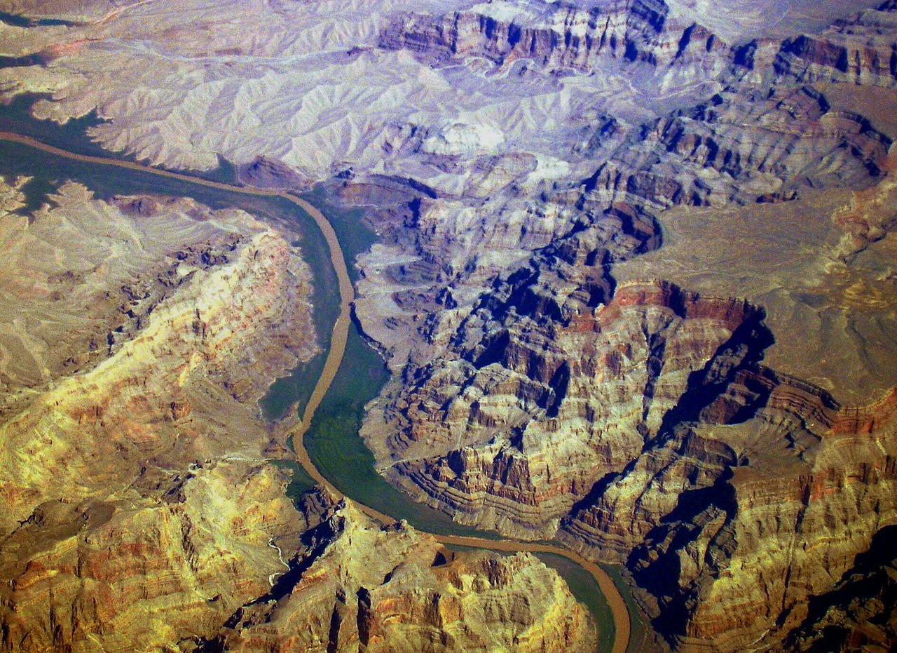 A River Runs through the Canyon