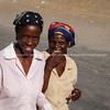 Small village and people of Gweta on the Makgadigadi Pans in Botswana