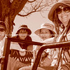Group on safari in South Africa,