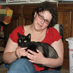 Rene Kate was adopted from the Cat House and Adoption Center on Saturday, June 21, 2008.