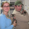 Dasher and Blitzen were adopted from the Cat House and Adoption Center on Saturday, February 14, 2009.