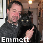Emmett was adopted from the Cat House and Adoption Center on Saturday, April 20, 2013.