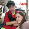 Sam was adopted from the Cat House and Adoption Center on Saturday, October 26, 2013.