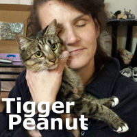 Tigger Peanut was adopted from her foster home on Tuesday, December 2, 2014.