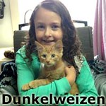 Dunkelweizen was adopted from the Cat House and Adoption Center on Saturday, November 7th, 2015.