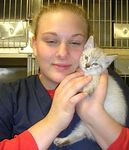 """Mateo adopted 1/2/05.  Mateo means """"gift of God"""" and that suits this precious kitten perfectly."""