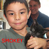 Smokey was adopted from the Cat House and Adoption Center on Saturday, August 15, 2009.