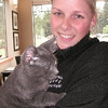 Baby Girl (no eyes) and One-Eye Jack were adopted from Hawk's Prairie Veterinary Hospital on Thursday, August 13, 2009.