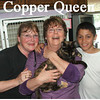 Copper Queen (GMR #2) was adopted from the Cat House and Adoption Center during the Adoption Event on Tuesday evening, April 6, 2010.