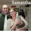 Samantha (GMR #9) was adopted from the Cat House and Adoption Center during the Adoption Event Tuesday evening, April 6, 2010.