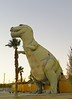 Cabazon T-Rex - profile
