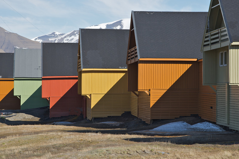 Homes in Svalbard