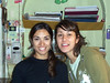<h3>Flavela and Julia, attendants at the Hostel Independencia in Mendoza.</h3>