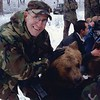 SSG MINARDI with bear named Trouble