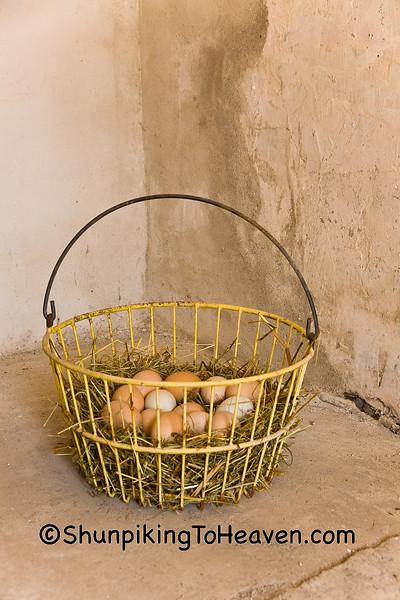 Old Fashioned Basket of Eggs, Winneshiek County, Iowa