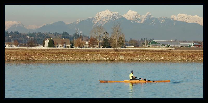 Nicomekl River at Elgin Heritage Park, Surrey, BC