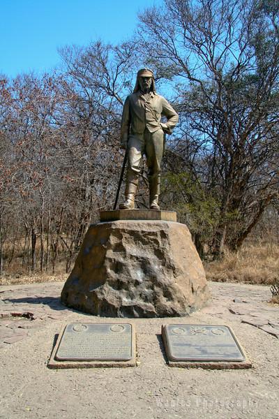 Scottish explorer Dr. David Livingstone