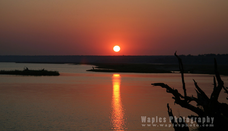 Sunrise over the Chobe River