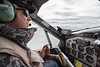 Pilot flying Float Plane to Katmai