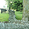 I love rock fences! We have some on the antebellum homes in middle Tennessee.