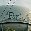 Paris is proud of it's racing history. Notice the jockey's attire depected on the water tower.