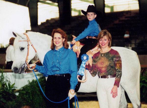 Chuck's 2nd Leadline class at the Louisiana Magnolia Arabian show.