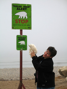 The town of Churchill's safe coexistence with the polar bears is a result of years of experience of developing compassion, understanding and respect for the animals.