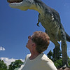 T-rex chased grandma, but