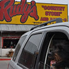 Lunch was served at Rudy's....Yum!