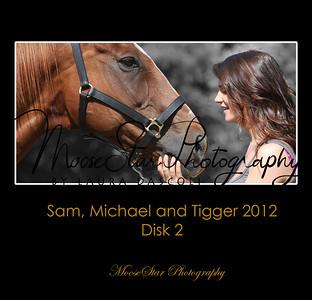 Sam, Michael and Tigger March 2012