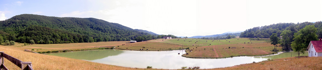 Panorama from the Home Place