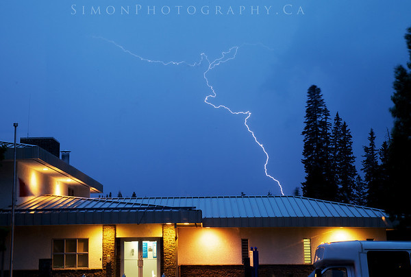 Lightning strikes!