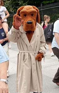 McGruff the Crime Dog (White House north gate)
