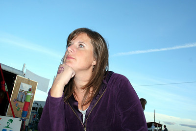 Lorinda what are you thinking about??? Maybe the good ice cream cone you had earlier?