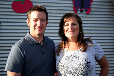 Chris & Lorinda stoped for a photo at the fair.
