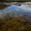 Reflection & rocks in water