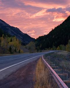 Red rail in the Sunrise