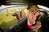 Feeling the Breath of a Watusi Cow on your back -  Global Wildlife Center, Louisiana
