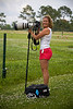 Cindy with her Big 400mm and her ThinkTank backpack at the Global Wildlife Center, Louisiana