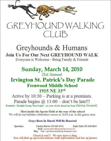 GWC March Walk